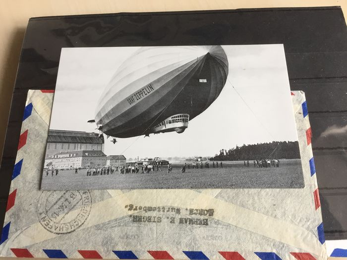 Europe - Zeppelin stamps and letters