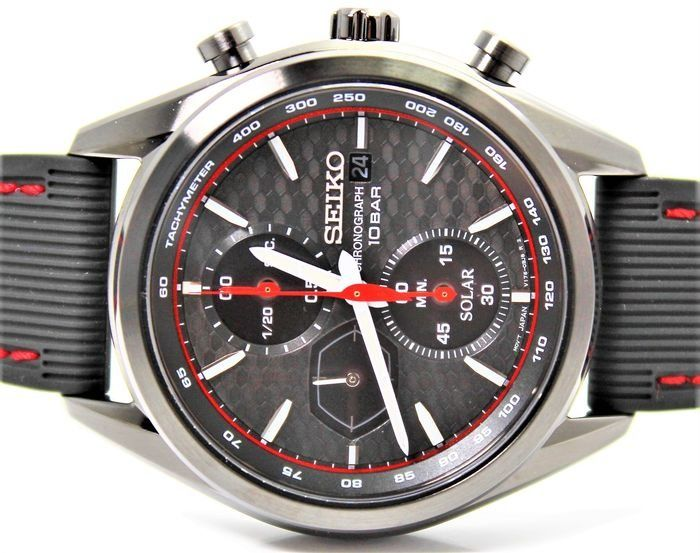 Seiko - NO RESERVE PRICE - SSC777P1 Solar Chronograph New & Boxed - Heren - 2011-heden