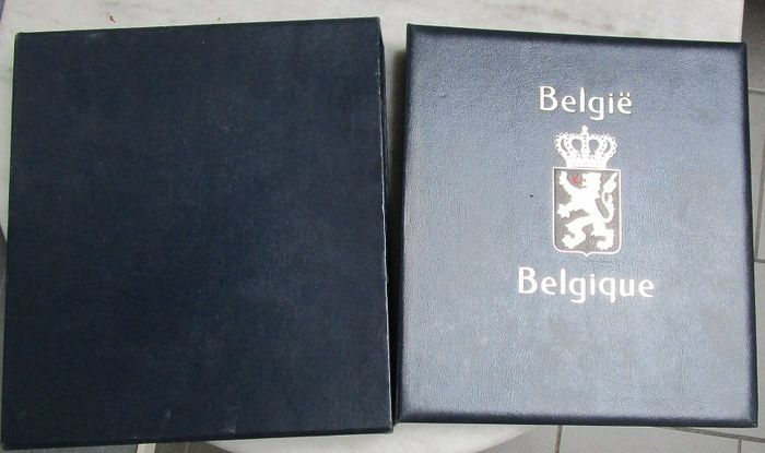 Belgien - Accessories: Davo album, without stamps.