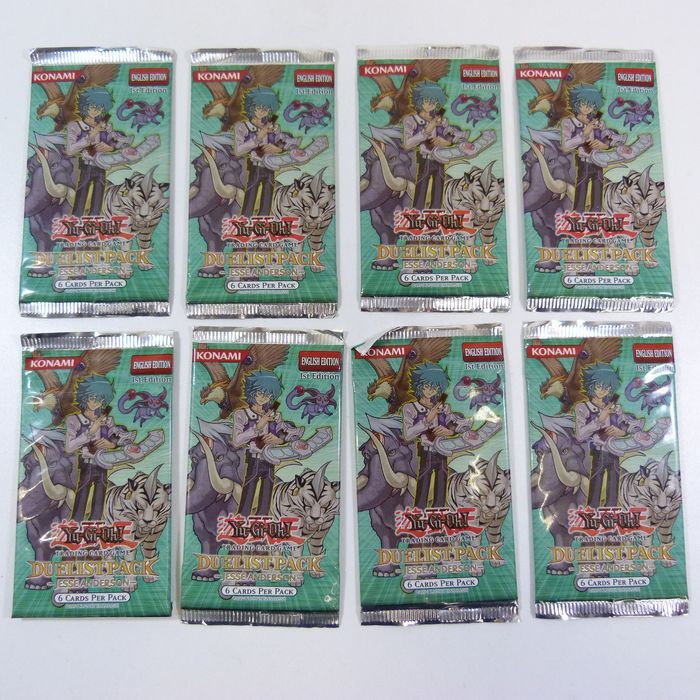 Upper Deck - Yu-Gi-Oh! - Booster Pack Duelist Pack Jesse Anderson - English 1st Edition - 1996