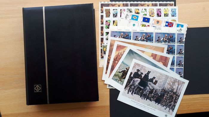 North America - America and Canada stamps, letters and cards on 51 photos