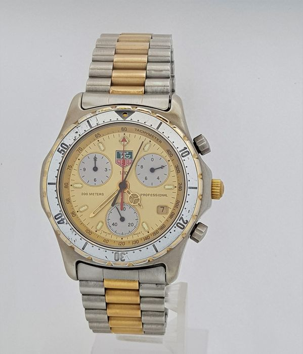 TAG Heuer - 2000 Series Professional 200m Chronograph - 575.406 R - Heren - 2000-2010