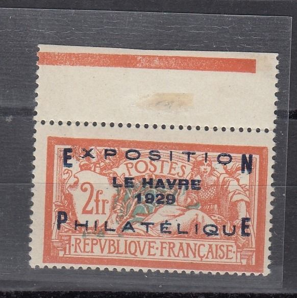 France 1929 - Le Havre exposition LUXUS Rare , high catalog - Michel 239