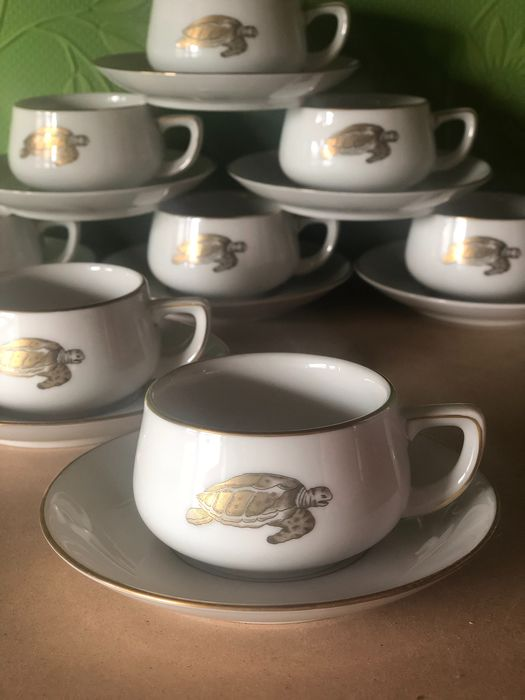 Thomas Germany - cups and saucers for 8 - Porselein