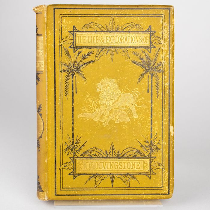 J.S. Robertson - The Life of David Livingstone, LL.D. The Great Missionary Explorer - 1884