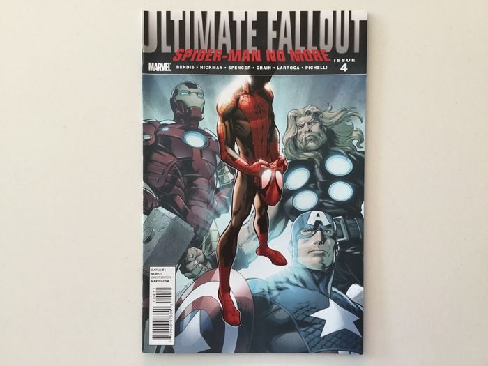 Ultimate Fallout Complete Serie Of Ultimate Fallout #1-6 including Key-Issue #4 - 1ste Appearance of Miles Morales !   All comics in very high grade - See all 83 Pictures! - Softcover - First edition - (2011)