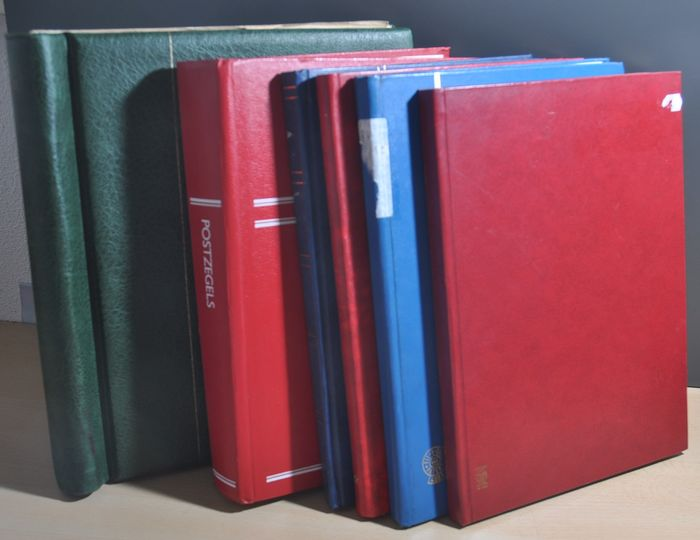 Welt - Batch in various stock books and in an album