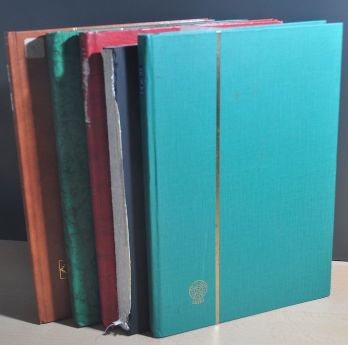 Greece and Cyprus - Batch starting with classics to modern in various stock books