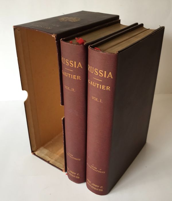Théophile Gautier (1811-1872) - Russia illustrated by numerous photogravures; 2 Vol's complete - 1905