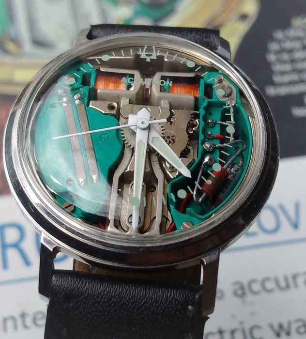 """Bulova - Accutron Spaceview - """"NO RESERVE PRICE"""" - M6-214 - Homme - 1966"""