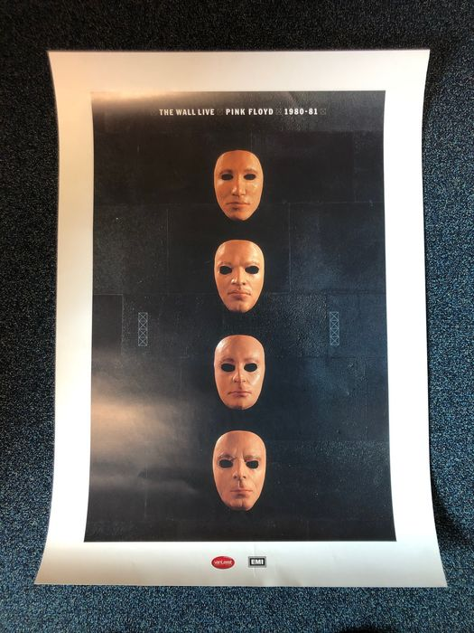 Pink Floyd & Related, Pink Floyd - Original The Wall Live Is There Anybody Out There poster - Affiche original première édition - 2000/2000