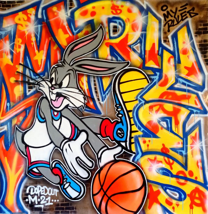 Dopedout M - Bugs Bunny - My Rules
