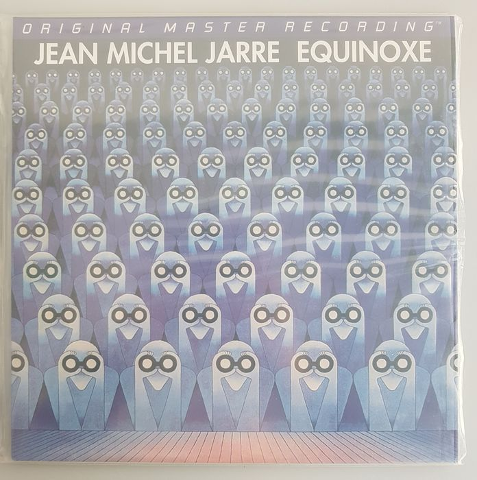 Jean Michell Jarre - Equinoxe [Mobile Fidelity Sound Lab Original Master Recording Half-Speed Master] - LP Album - 1995