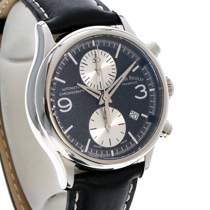 "Armand Nicolet - Chronograph Automatic Swiss Watch - ""NO RESERVE PRICE"" - A844HAA-NR-P140NR2 - Heren - 2011-heden"