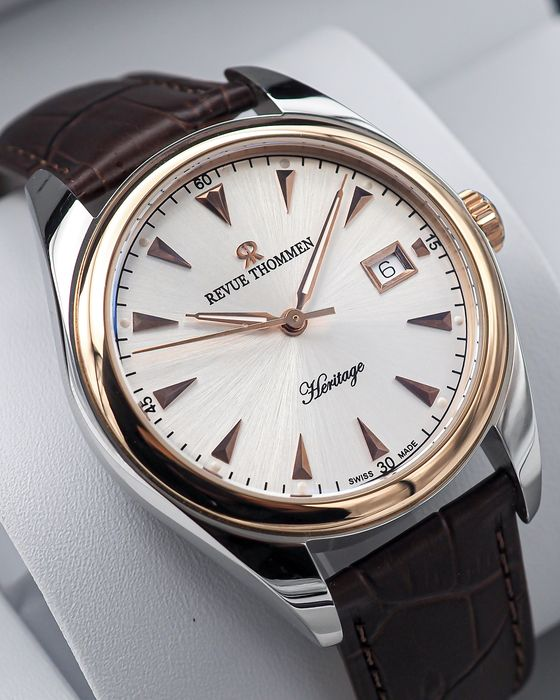 "Revue Thommen - Heritage Automatic - ""NO RESERVE PRICE"" 21010.2552 - Heren - 2011-heden"
