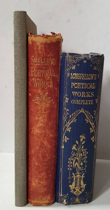 Henry Wadsworth Longfellow/ Percy Byssche Shelley - The poetical works + A day with the poet Longfellow - 1857