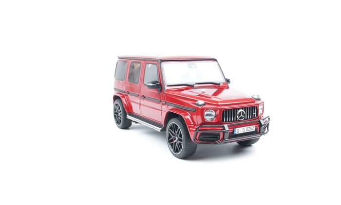 GT Spirit - 1:18 - Mercedes-Benz G63 AMG 2019 Orange - Sold Out by the manufacturer (China special edition)