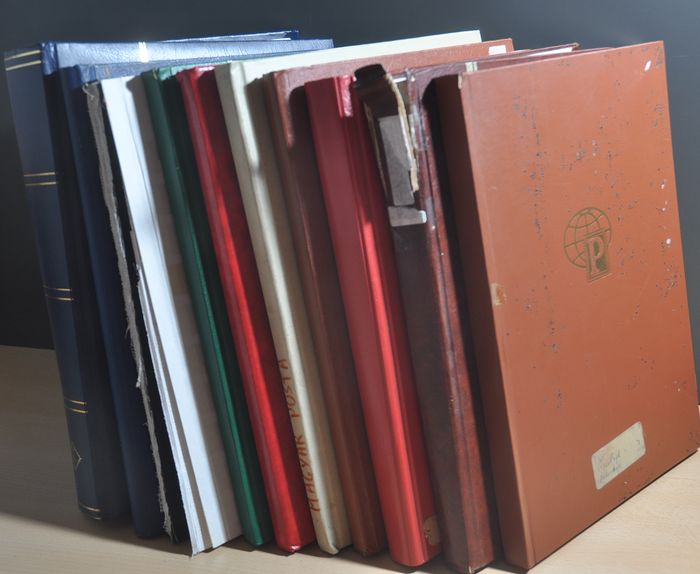 Welt - Batch in various stock books