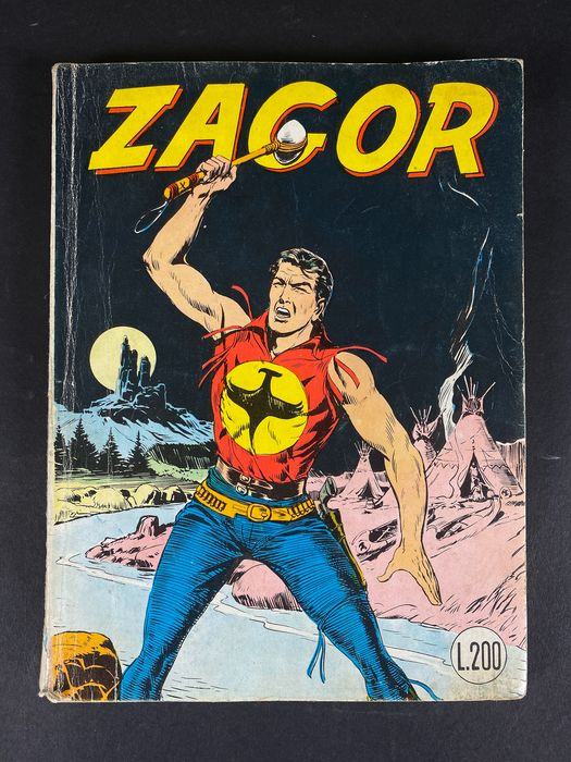 Zagor N. 52 - Zenith Gigante - primo numero - Softcover - First edition - (1965)