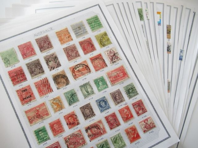 Australia - Advanced collection of stamps
