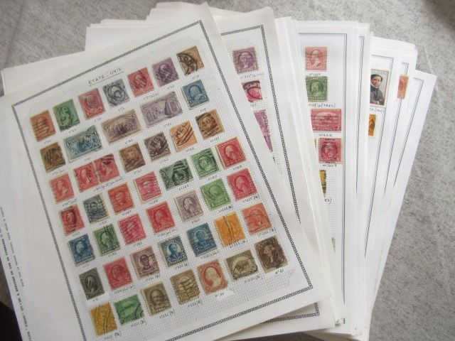 United States of America - Advanced collection of stamps