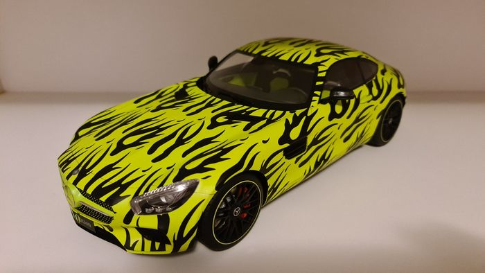 Premium Classixxs - 1:12 - Mercedes-Benz AMG GT S - 1:12 scale model Mercedes AMG GT S, very rare model, limited edition of 190 pieces, this is n