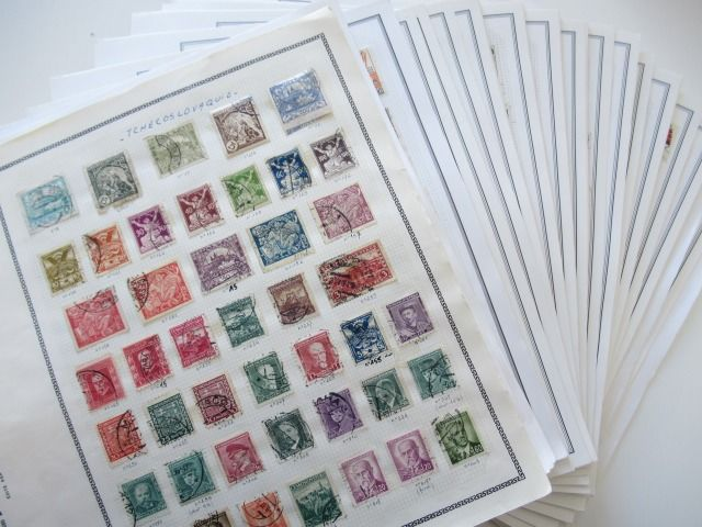 Czechoslovakia - Advanced collection of stamps