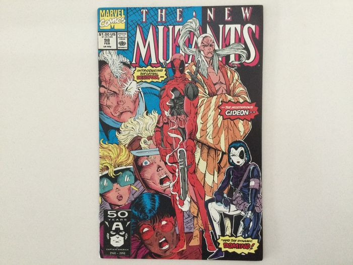 The New Mutants Vol.1 #98   in Very High Grade (See pictures) - 1st full appearance of Deadpool, Gideon and Domino. - Broché - EO - (1991)