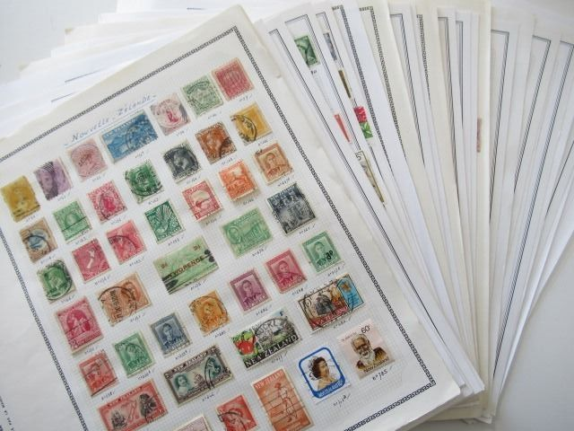 Oseania - including British colony, collection of stamps