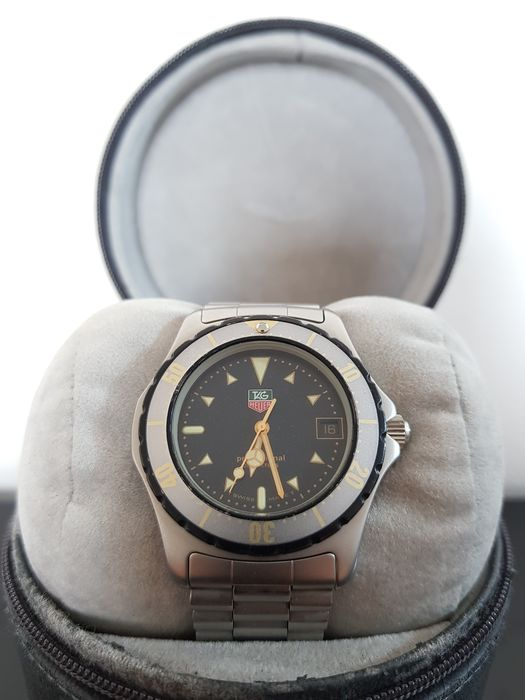 TAG Heuer - 2000 Professional 200m - Ref. 972.606 - Hombre - 1980-1989
