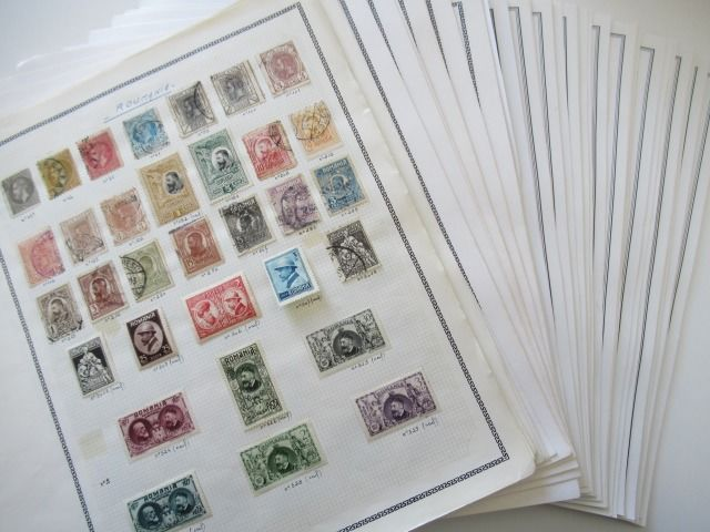 Roemenië - Advanced collection of stamps