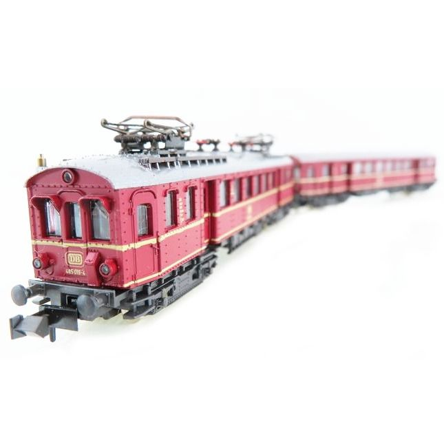 Roco N - 23000 - Electric locomotive, Railcar - Motor car set ET 85 (BR 485) and ET 90 (BR 885)