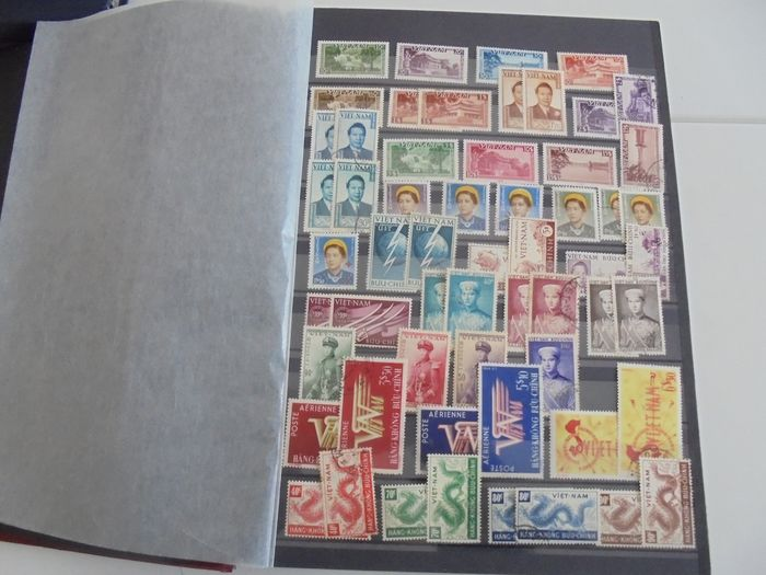 Viet-Nam / Laos / 1945/1983 - Collection of mint and cancelled stamps from Viet Nam and Laos - Yvert