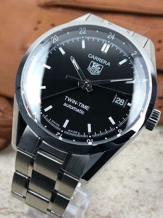 TAG Heuer - Carrera Twin Time Automatic - WV2115-0 - Hombre - 2011 - actualidad