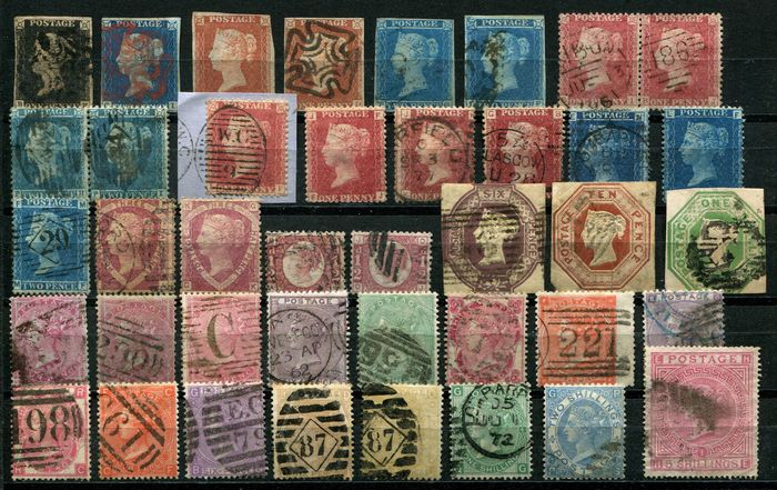 Iso-Britannia 1840/1891 - Collection Victoria cat £19,516 including high values - Stanley Gibbons