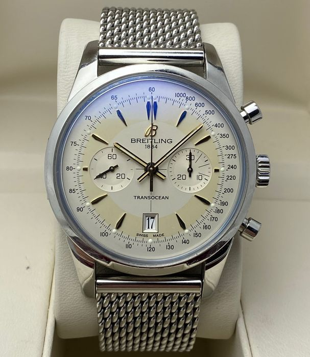 Breitling - Transocean Chronograph Limited Edition - AB0154 - Men - 2011-present