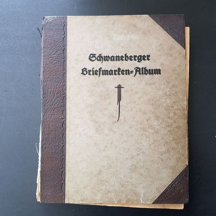 Welt 1850/1925 - Collection of classics in an old album