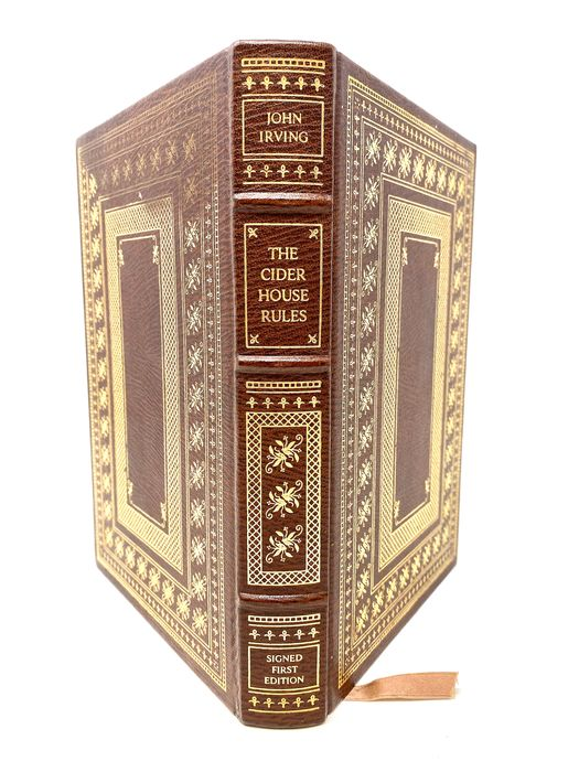 Signed; John Irving - The Cider House Rules - 1985