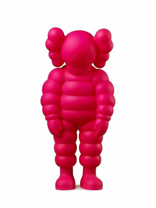 Kaws (1974) - What Party (pink)
