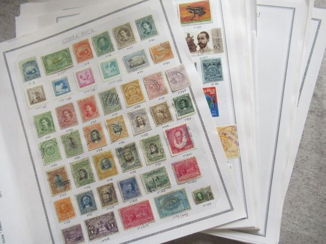 South America - Advanced collection of stamps