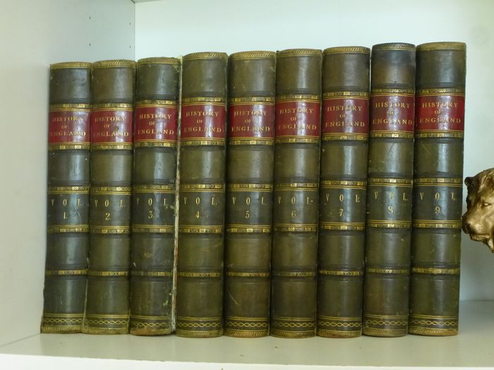 Collated - The illustrated history of England : 9 volume set - 1880