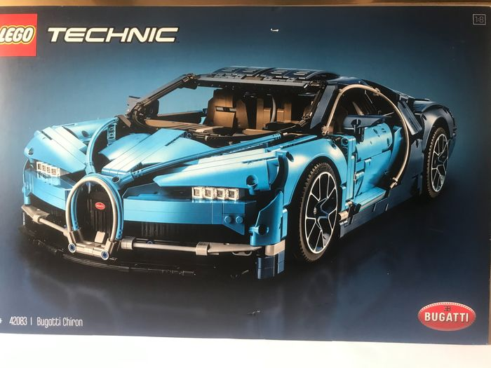 LEGO - Technic - 42083 - Vettura Bugatti Chiron Race Car Building Kit and Engineering Toy - 2000-presente - Danimarca