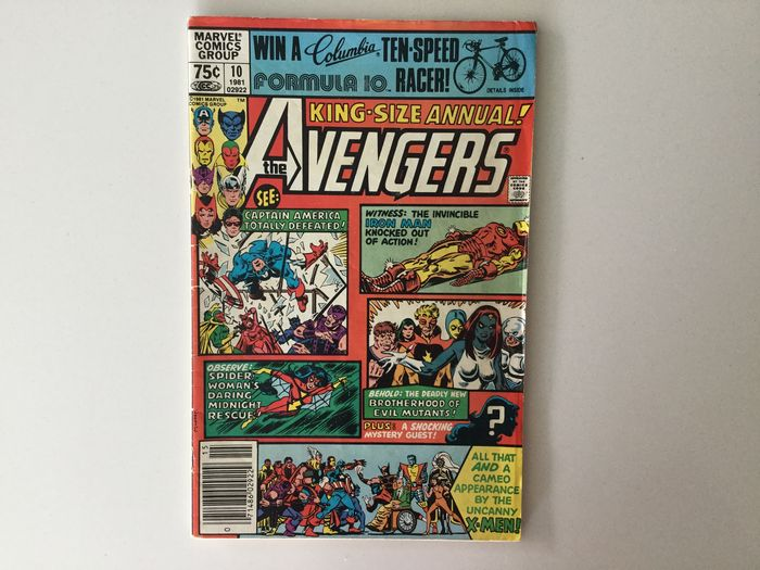 The Avengers Annual #10A King Size - 1e Appearance of Rogue - Softcover - First edition - (1981)
