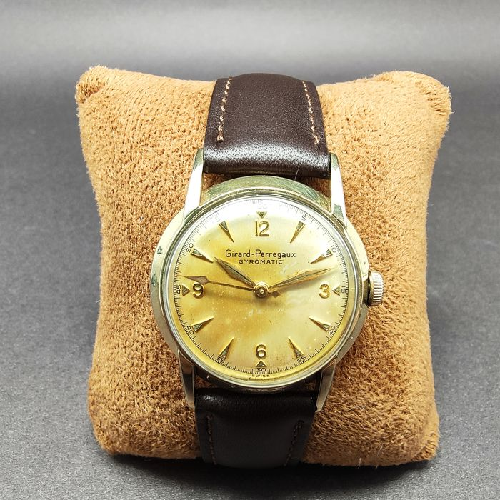 """Girard-Perregaux - Gryomatic Cal 47 AE 203 Automatic - """"NO RESERVE PRICE"""" . - Homme - 1960-1969"""