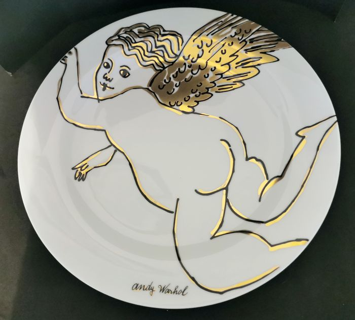 "Andy Warhol (1928-1987) - ""Golden Angels"" Porzellan - Rosenthal Studio Line, Limited Edition"