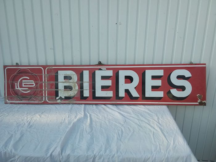Bieres - Bord - Emaille