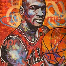 Dillon Boy (1979) - Basketball Legend Michael Jordan Chicago Bulls Portrait