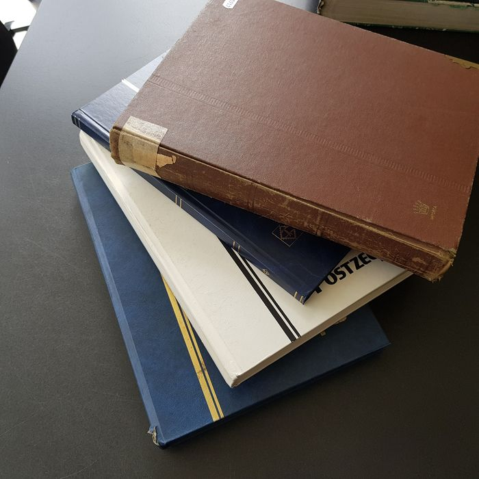 World 1850/2000 - various countries batch to sort-out in four stock books