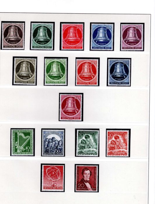 Berlin 1950/1990 - Complete collection - Michel 71 - 879