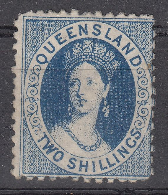 Australië - Queensland 1880 - Two Shilling watermark 6, mint with gum - Stanley Gibbons nr.118